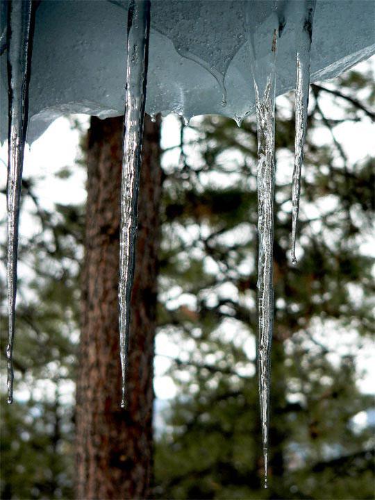 заплаха от лед